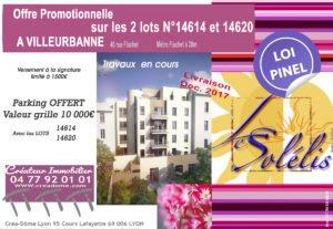 offre promotionnelle à Villeurbanne