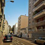 Rue du Pensionnat avant les travaux