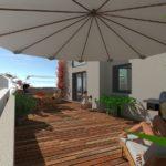 UrbanDome, de belles terrasses
