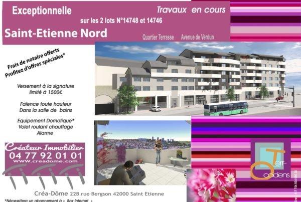 CREADOME, immobilier neuf à Saint-Etienne