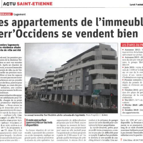 Terr'Occidens, le chantier se termine
