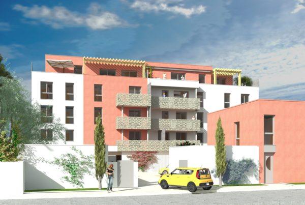 Une petite résidence intimiste de 19 appartements et 2 maisons de ville
