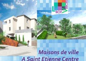 La dernière maison de ville en plein centre de saint-Etienne