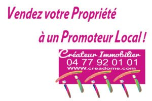 Vendez votre propriété à un promoteur local